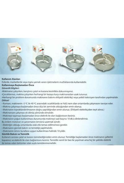 Kurtsan Hamur Yoğurma Makinesi 25 Kg