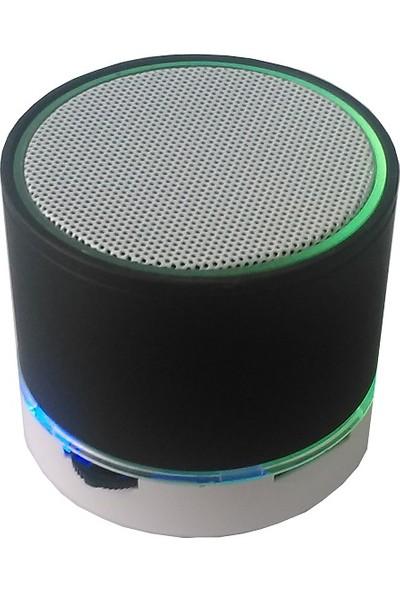 Sbees Işıklı Fm Radyolu Mini Bluetooth Speaker
