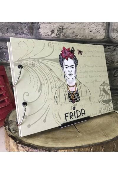 Maxipark Frida Kahlo Tasarım Kendin Yap Fotoğraf Albümü Ve Defter