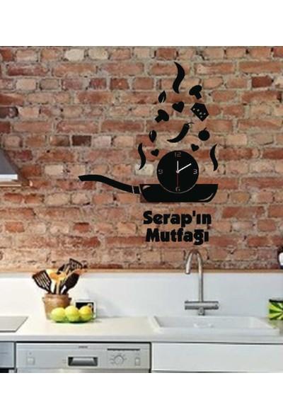 Hedef Hediyelik İsimli Dekoratif Mutfak Aynası (Saatli)