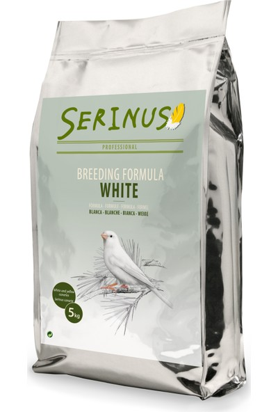 Serinus Breeding Formula White 5 Kg Kanarya Yemi