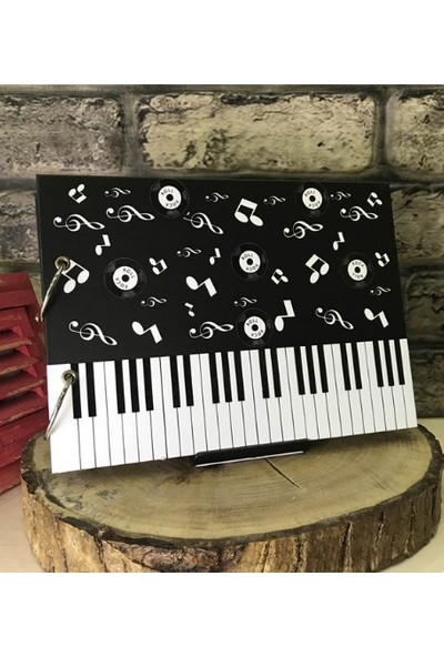 Maxipark Müzik - Piyano Tasarım Kendin Yap Fotoğraf Albümü Ve Defter