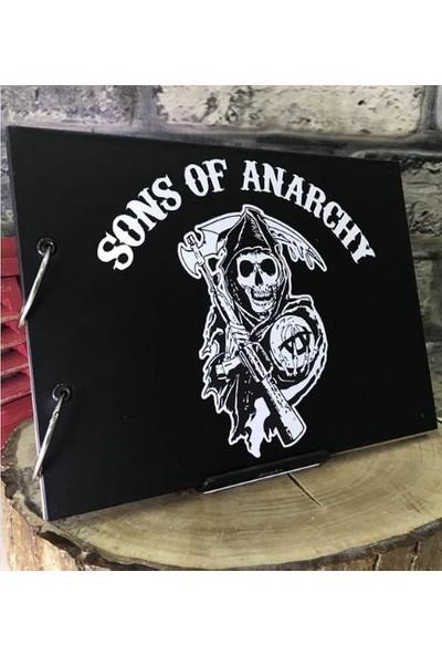 Maxipark Sons Of Anarchy Tasarım Kendin Yap Fotoğraf Albümü Ve Defter