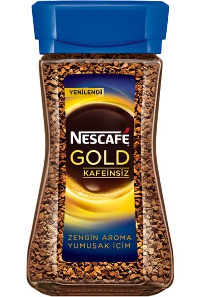 Nescafe Gold Decaf Kafeinsiz Cam Kavanoz 100 gr