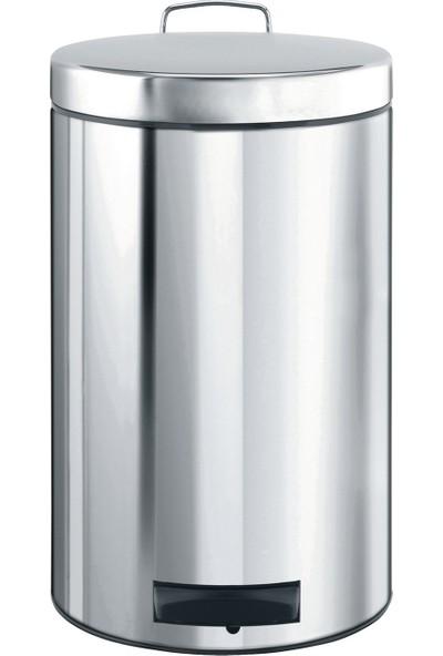 Brabantia Brilliant Steel Pedallı Çöp Kutusu 12 lt.