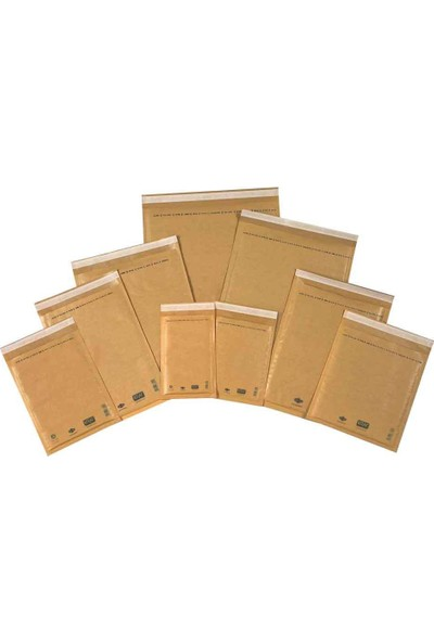 Kraf Hava Kabarcıklı Zarf 30X40cm 10'lu Paket