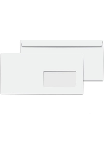 Oyal Diplomat Zarf Beyaz 110gr. Pencereli 200'lü Paket