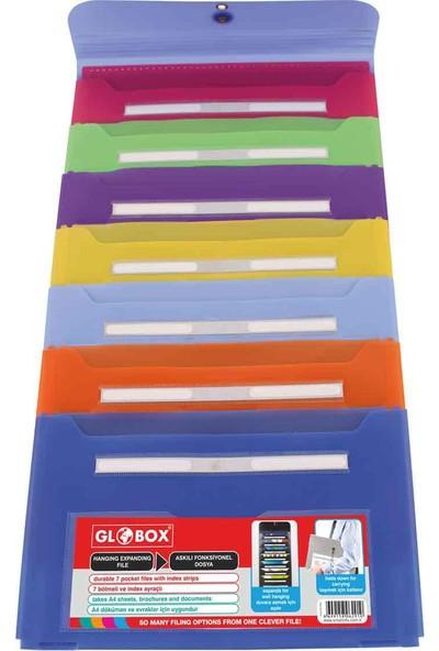 Globox Askılı Fonksiyonel Dosya Mavi