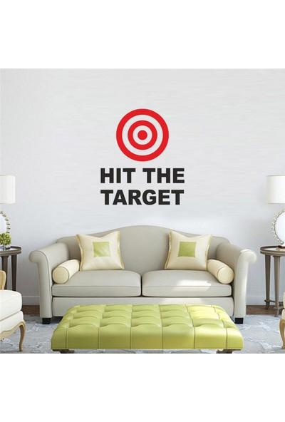 "Bisticker S-102 ""Hıt The Target"" Duvar Sticker"