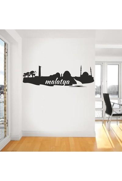 """Bisticker S-158 """"Malatya Şehir Silueti 1"""" Duvar Sticker"""