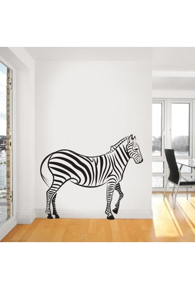 "Bisticker S-134 ""Zebra"" Duvar Sticker"