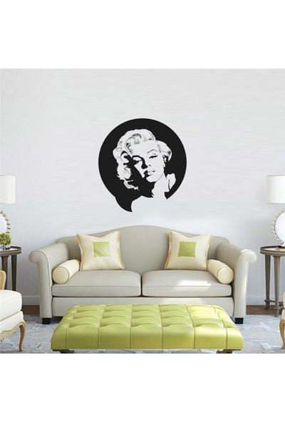 """Bisticker S-137 """"Marilyn Monroe Portre"""" Duvar Sticker"""