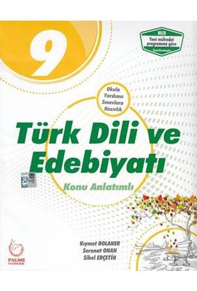Palme Yayıncılık 9. Sınıf Türk Dili ve Edebiyatı Konu Anlatımlı - Kıymet Dolaner
