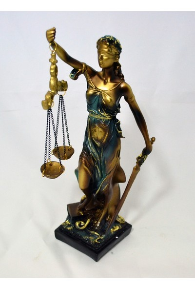 Adalet Heykeli 28 cm.