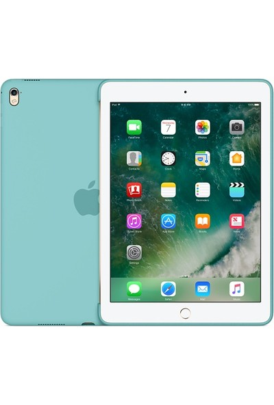 Apple Silicone Case for iPad Pro 9.7-inch - Sea Blue MN2G2ZM/A