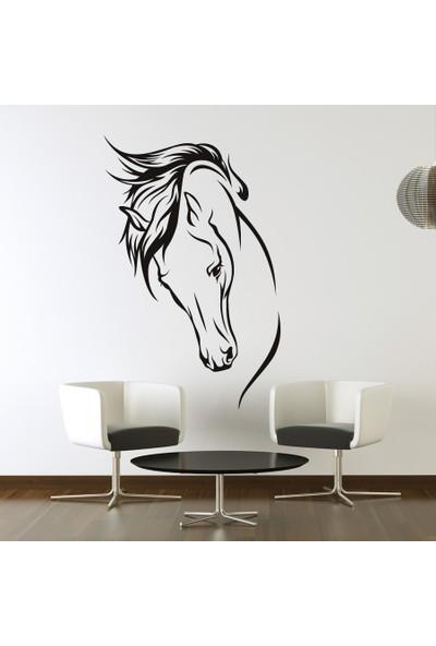 Freya At Başı Duvar Stickerı 49 X 75 cm