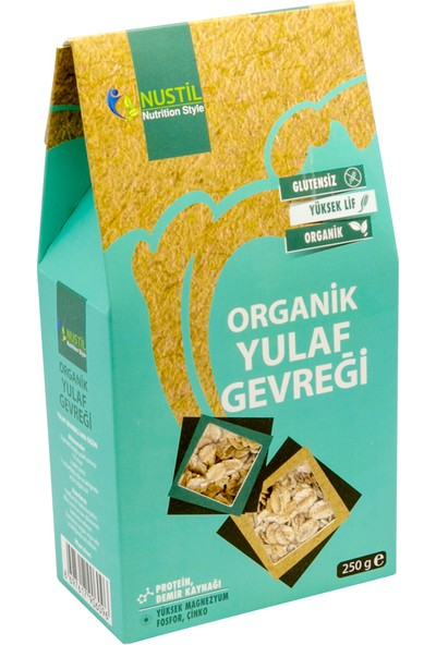Nustil Nutrition Style Organik Glutensiz Yulaf Gevreği