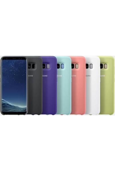 Samsung Galaxy S8 Silikon Kılıf Beyaz - EF-PG950TWEGWW
