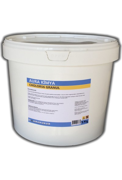 Aura %56 (Granül) Toz Klor (Di Klor) 5 Kg