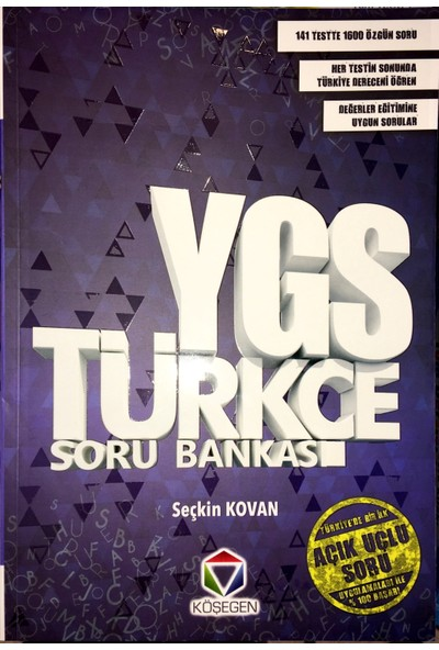 Ygs Türkçe Soru Bankası Köşegen Yayınları