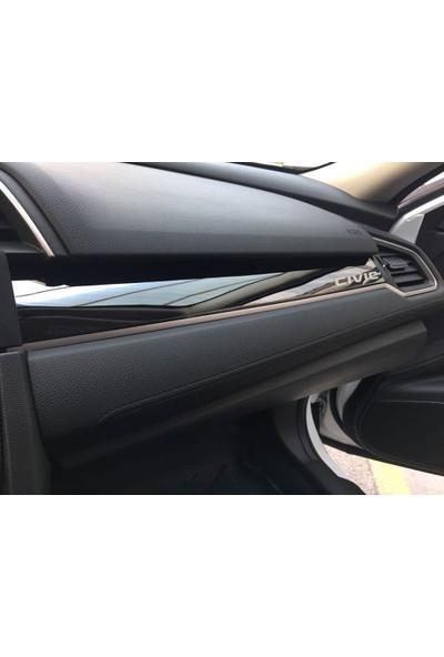 Honda Civic Fc5 2016 2017 İç Aksesuar Seti Civic Yazılı