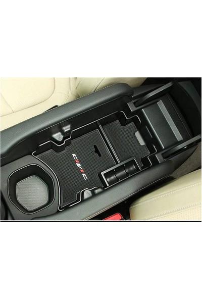 Honda Civic Fc5 2016 2017 İç Saklama Seti Civic Yazılı