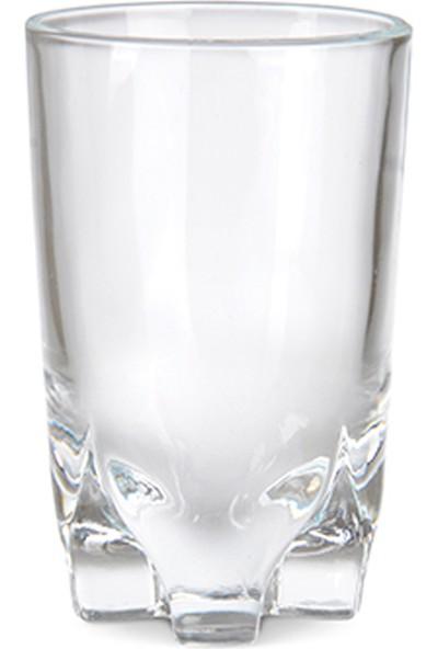 Vidrex 6'Lı Fayrouz Cam Kahve Yanı Bardağı