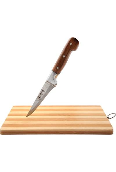 Lazoğlu Sürmene El Yapımı 3'lü Kurban Bıçak Seti