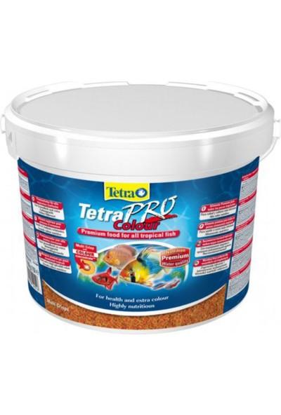 Tetra Pro Colour Renklendirici Pul Balık Yemi 10 lt