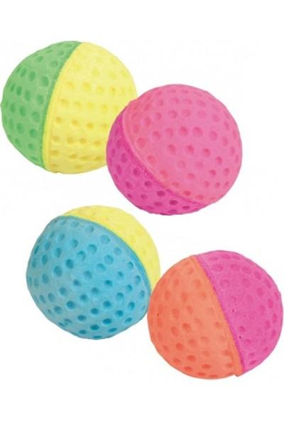 Trixie Renkli Sünger Kedi Oyun Topu 4,3 cm