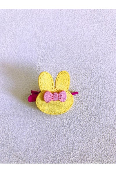By Kemique Bunny Serisi Sarı Toka