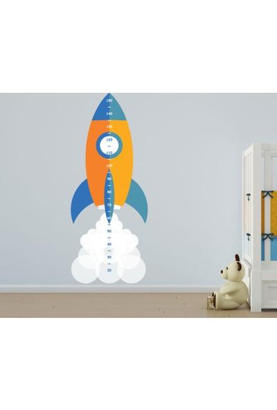 Bisticker W-127 Çocuk Odası Boy Ölçer Duvar Sticker