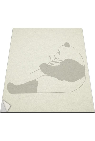 Bisticker W-112 Panda 2 Duvar Sticker