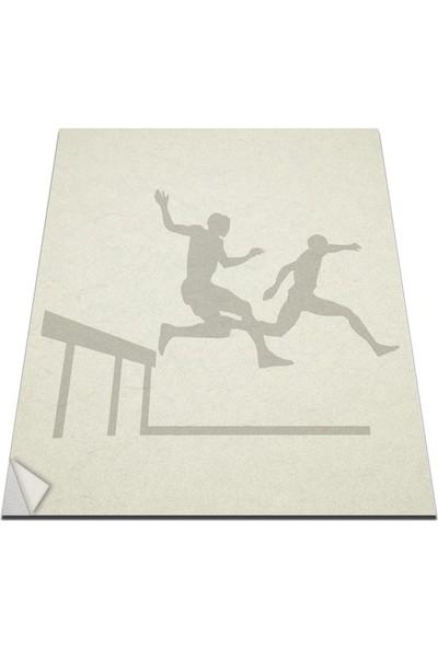 Bisticker W-201 Spor Duvar Sticker