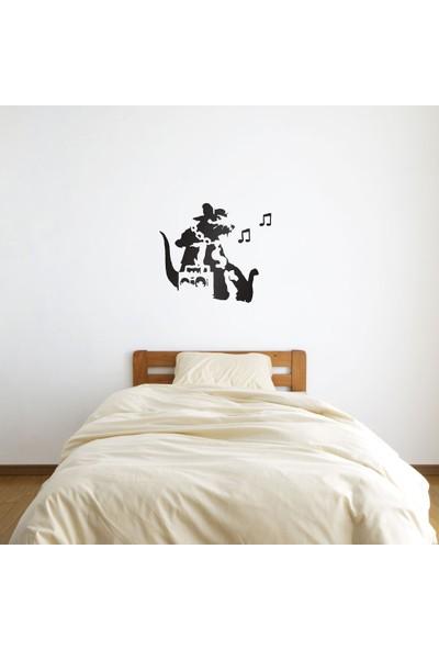 Bisticker W-171 Fare Müzik Duvar Sticker