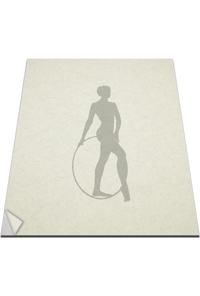 Bisticker W-184 Jımnastık Duvar Sticker