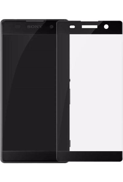 Elx Sony Xperia Xa 3D Kavisleride Kaplayan Renkli Temper Cam