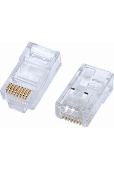 Ttec Business 8P8C (Rj45) Cat6 Plug 100'lü Paket