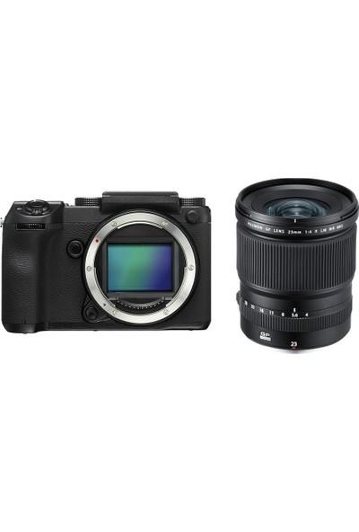 Fujifilm Gfx 50S Aynasız Medium Format + Gf 23Mmf4 R Lm Wr Kit