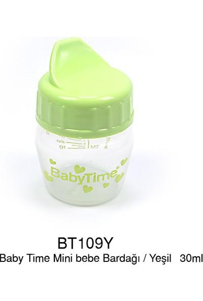 BabyTime Mini Bebek Bardağı - Yeşil