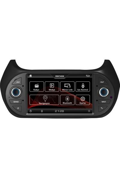 Necvox DVAS 99122 Fiat Fiorino Multimedya Oynatıcı Navigasyon