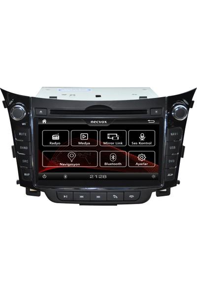 Necvox DVAS 99121 Hyundai İ30 Multimedya Oynatıcı Navigasyon