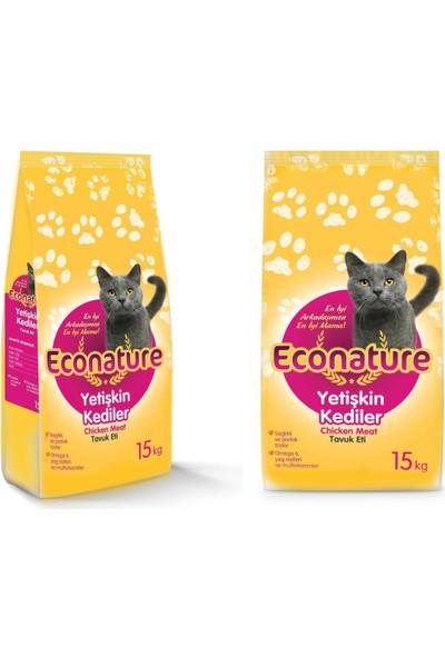 Econature Yetişkin Kedi Maması 15 Kg (Hediyeli)