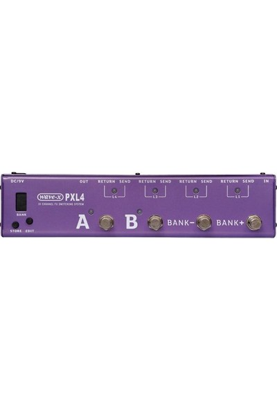 Joyo PXL-4 4 Kanallı Efekt Kontrol Pedalı