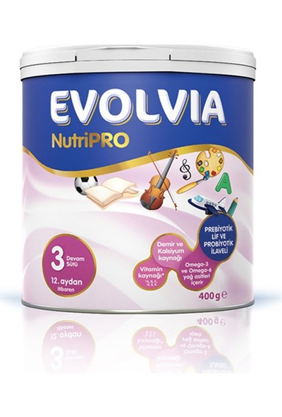 Evolvia NutriPRO 3 Devam Sütü 400 gr