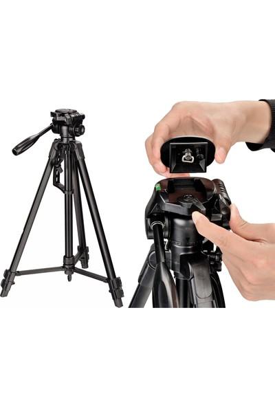 No Name Dslr Fotoğraf Makineleri İçin 135cm Tripod + Taşıma Çantası