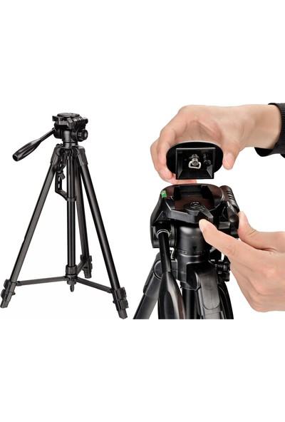 Canon 600D Fotoğraf Makinesi İçin 170cm Tripod 5 Kg Taşıma