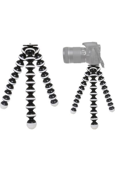 No Name D5000 Fotoğraf Makinesi İçin Gorillapod Ahtapod Tripod