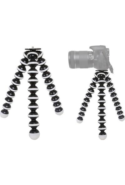 No Name D5200 Fotoğraf Makinesi İçin Gorillapod Ahtapod Tripod