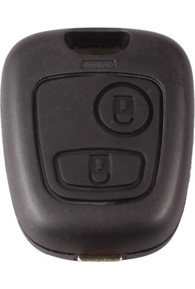 Peugeot Anahtar Kabı 2 Butonlu (Yale)